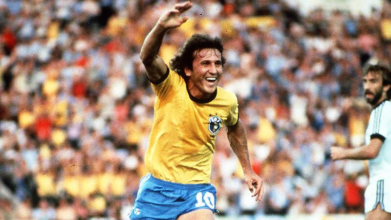 Zico Mondiale 1986 Brasile